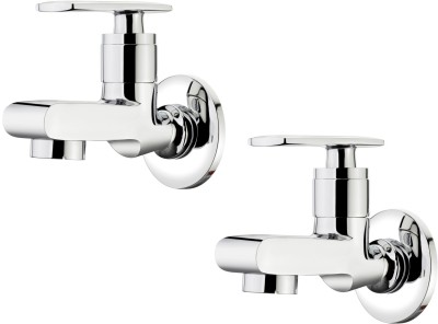 Ganga-301-Liva-Bib-Cock-With-Wall-Flange-(Set-of-2-Pcs)-Faucet