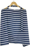 Wobbly Walk Nursing Cover Feeding Cloak (Blue/White)