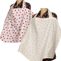 Brotherbaby Feeding Cloak (White Base With Yellow Color Print, White Base With Red Color Print)