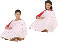 Brother Baby Feeding Cloak (Pink And Green With Light Pink)