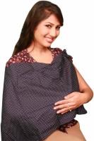 Vixenwrap Brown Polka Printed Feeding Cloak (Brown)