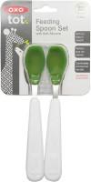 Oxo Tot Feeding Spoon Set  - Plastic (Green)