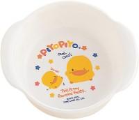 Piyo Piyo Baby Milk Bowl  - Plastic Material (White)