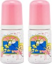 Small Wonder Forever Bottle (Pack Of 2)  - Food Grade Polycarbonate Bottle, BPA Free Liquid Silicone Teat, BPA Free Polypropylene Accessories - Pink - FDUDWZYZBKGAMR6R