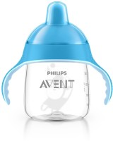Philips Avent Spout Cup  - Food Grad Plastic/Siclicon (Blue)