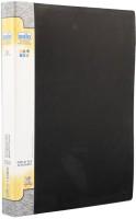 Solo 60 Pockets Polypropylene Display File (Set Of 1, Black)