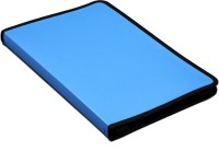 Solo Display File 20 Pockets F/C Polypropylene Zipper Closure (Set Of 1, Blue)