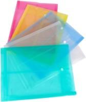 Aahum Sales Polypropylene Envelope Bag Button Closer Set Of 10 (Set Of 10, Multicolor)