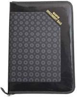 Aahum Sales Faux Leather Executive Series Document Bag File Folder (Set Of 1, Black)