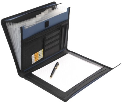 Solo Conference File Set Of 1, Metallic Blue available at Flipkart for Rs.329