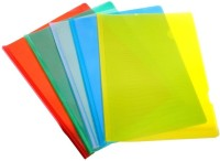 TATTVAM Polypropylene STRIP FILE Pack Of 10 (Set Of 1, Multicolor)