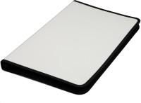 Solo Display File 40 Pockets F/C Polypropylene Zipper File (Set Of 1, Grey)