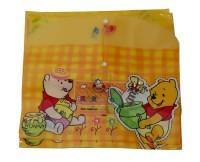 Aahum Sales Polypropylene Bear My Clear Bag Set Of 12 (Set Of 12, Multicolour)