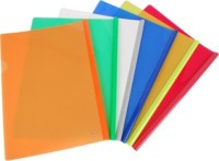 Aahum Sales Polypropylene Strip File (Set Of 15) (Set Of 15, Multicolor)