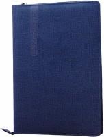 Aahum Sales Hard Bound Clothline Document File Folder Blue (Set Of 1, Blue)