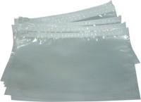 Manbhari Plastic BAG (Set Of 50, Transparent)