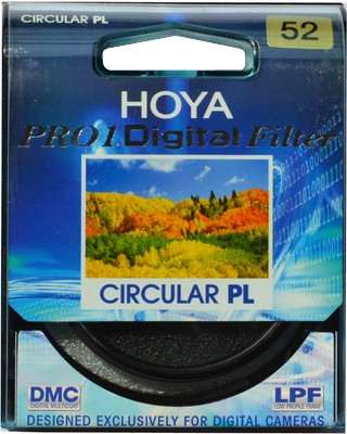 Buy Hoya 52 mm Pro1 Digital Circular Polarizer Polarizing Filter (CPL): Filter