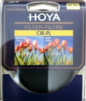 Hoya 62 mm Circular Polarizer Filter: Filter