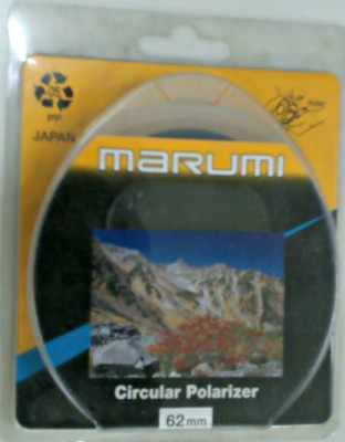 Buy Marumi 62 mm Circular Polarizer Polarizing Filter (CPL): Filter