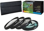 PLR Optics 72Mm +1 +2 +4 +10 Close Up Macro Filter Set With Pouch For The Nikon