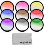Goja 67Mm Complete Graduated Color Lens Filter Set For Canon