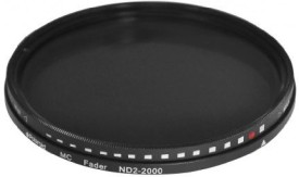 Polaroid Optics 77Mm Hd Multi-Coated Variable Range Nd2-Nd2000 Neutral Density - Nd - Fader Filter ND Filter