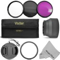Goja Essential Accessory Kit For Canon Powershot Sx50 Hs Digital Camera Polarizing Filter (CPL) (58 Mm)