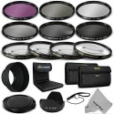 Goja 58Mm Complete Lens Filter Accessory Kit For Canon Eos Rebel Dslr Camera Polarizing Filter (CPL) (58 Mm)