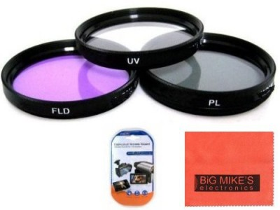 Big Mike s 72Mm Multi Coated 3 Piece Filter Kit For Nikon