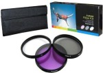 PLR Optics 52Mm High Resolution 3 Piece Filter Set For The Canon