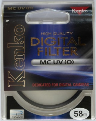 Buy Kenko 58 mm Ultra Violet O Slim Filter: Filter