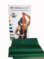 TheraBand Latex Free Resistance Band (Green)
