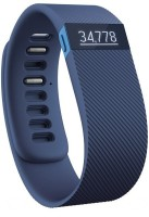 Fitbit  Charge Wireless Activity Tracker And Sleep Wristband, Large Fitness Band (Blue, Pack Of 1)