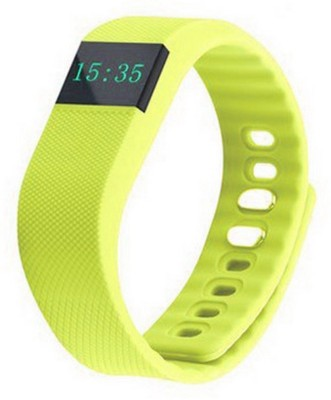 Everything Imported Fit Bit Smartwatch (Yellow Strap)