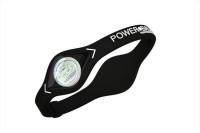 Metro Sports Power Balance Fitness Band (White, Black, Pack Of 1)
