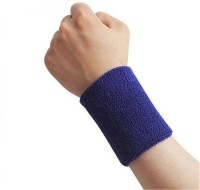 Futaba Sports Sweat Band Fitness Band (Blue, Pack Of 1)