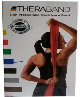 TheraBand Latex Free Resistance Band (Blue)
