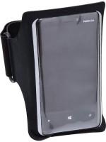 Kalenji Smartphone Armband 1796341 Fitness Band (Black, Pack Of 1)