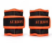 Aurion 1 Kg Wrist Weight 0.5 X 2 Fitness Band (Black)