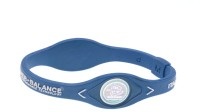 Power Band Balance Fitness Band (Blue)