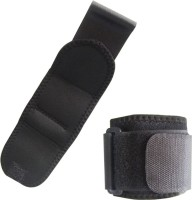 Metro Sports Wrist Support Fitness Band (Black, Pack Of 2)