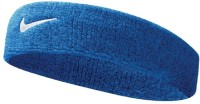 Nike Swoosh Headband Fitness Band (Blue, Pack Of 1)