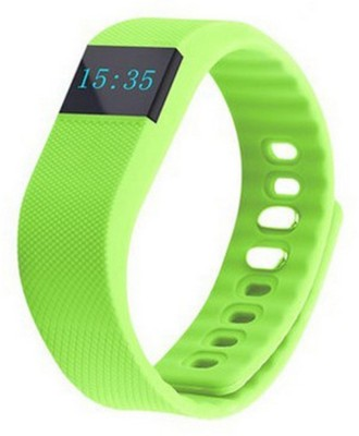 Everything Imported Fit Bit Smartwatch (Green Strap)