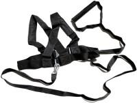 Sahni Sports Shoulder Resistance Harness Fitness Band (Black, Pack Of 1)