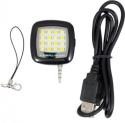 CM Selfie Flash Light 16 Led For All Mobile Phone Flash (Black)