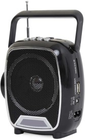 Soroo 1602 Rechargeable Multimedia with USB/SD Card/AUX/Torch FM Radio