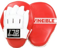 Invincible Classic Cardio Fitness Mitts Focus Pad (Red, White)