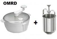 Omrd Dough Maker With Meduwada Maker Dough Maker (White)