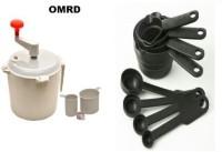 OMRD Easy Dough Maker And Plastic Measuring Spoon Set Dough Maker (Multicolor)