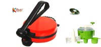 Rocks Rocks Roti Maker With Dough Maker Roti/Khakhra Maker (multicolour)